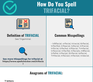 Correct spelling for Trifacial