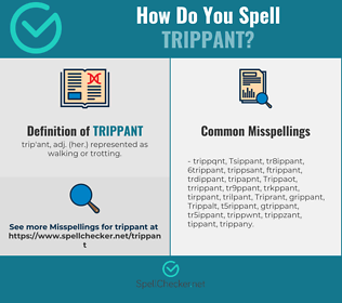 Correct spelling for Trippant