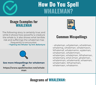 Correct spelling for Whaleman
