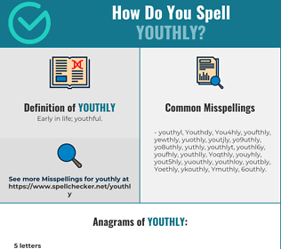 Correct spelling for Youthly