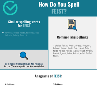Correct spelling for feist