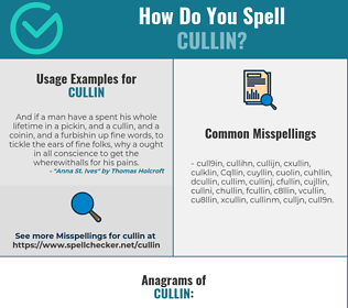 Correct spelling for Cullin