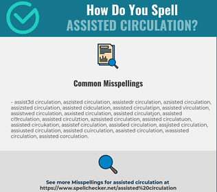 Correct spelling for Assisted Circulation