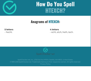 Correct spelling for HTEXCH