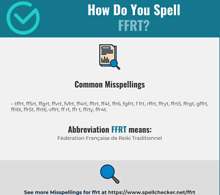 Correct spelling for FFRT