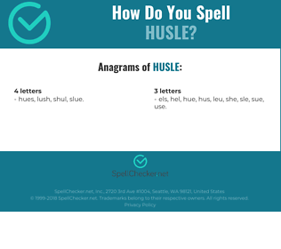 Correct spelling for HUSLE