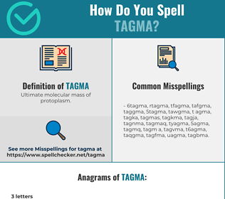 Correct spelling for tagma