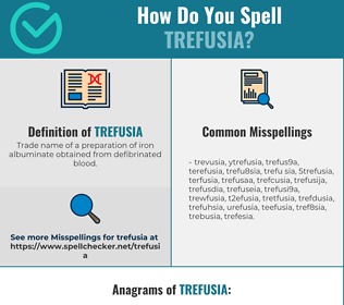 Correct spelling for trefusia