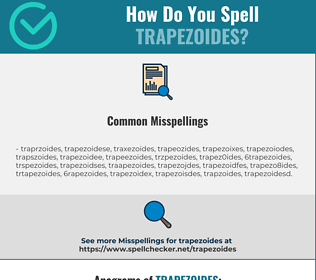 Correct spelling for trapezoides