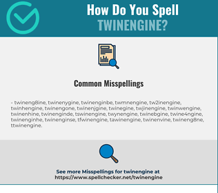 Correct spelling for twinengine