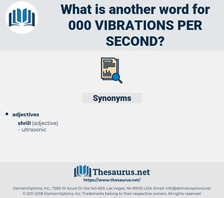 000 vibrations per second, synonym 000 vibrations per second, another word for 000 vibrations per second, words like 000 vibrations per second, thesaurus 000 vibrations per second