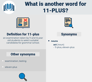11-plus, synonym 11-plus, another word for 11-plus, words like 11-plus, thesaurus 11-plus