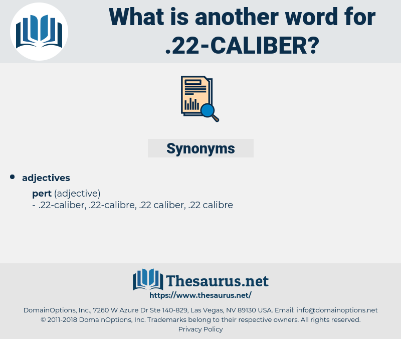 .22-caliber, synonym .22-caliber, another word for .22-caliber, words like .22-caliber, thesaurus .22-caliber