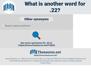 .22, synonym .22, another word for .22, words like .22, thesaurus .22