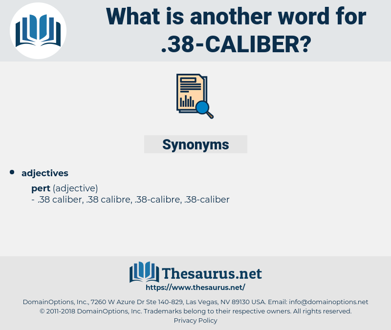 .38-caliber, synonym .38-caliber, another word for .38-caliber, words like .38-caliber, thesaurus .38-caliber