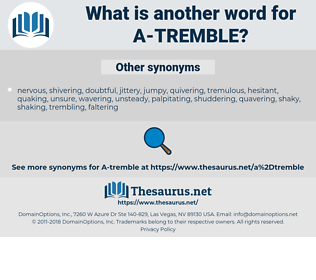 a-tremble, synonym a-tremble, another word for a-tremble, words like a-tremble, thesaurus a-tremble