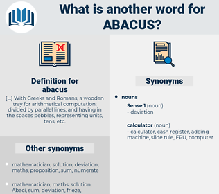 abacus, synonym abacus, another word for abacus, words like abacus, thesaurus abacus