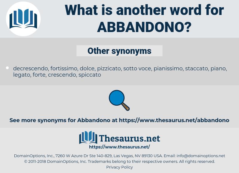 abbandono, synonym abbandono, another word for abbandono, words like abbandono, thesaurus abbandono