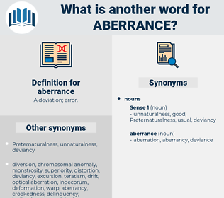 aberrance, synonym aberrance, another word for aberrance, words like aberrance, thesaurus aberrance