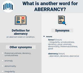 aberrancy, synonym aberrancy, another word for aberrancy, words like aberrancy, thesaurus aberrancy