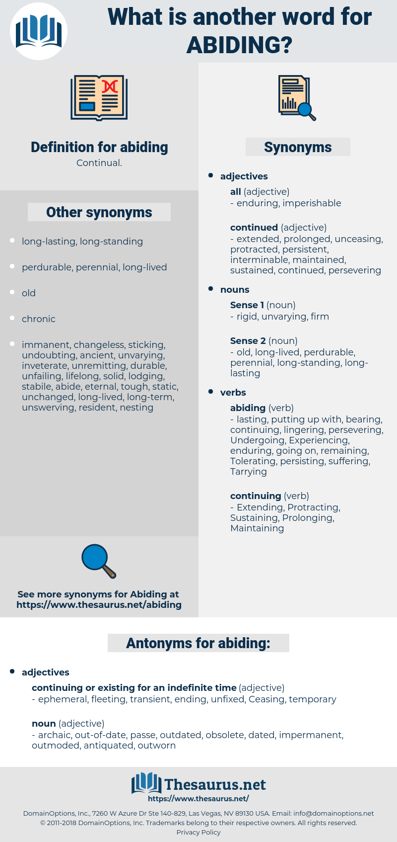 abiding, synonym abiding, another word for abiding, words like abiding, thesaurus abiding