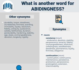 abidingness, synonym abidingness, another word for abidingness, words like abidingness, thesaurus abidingness