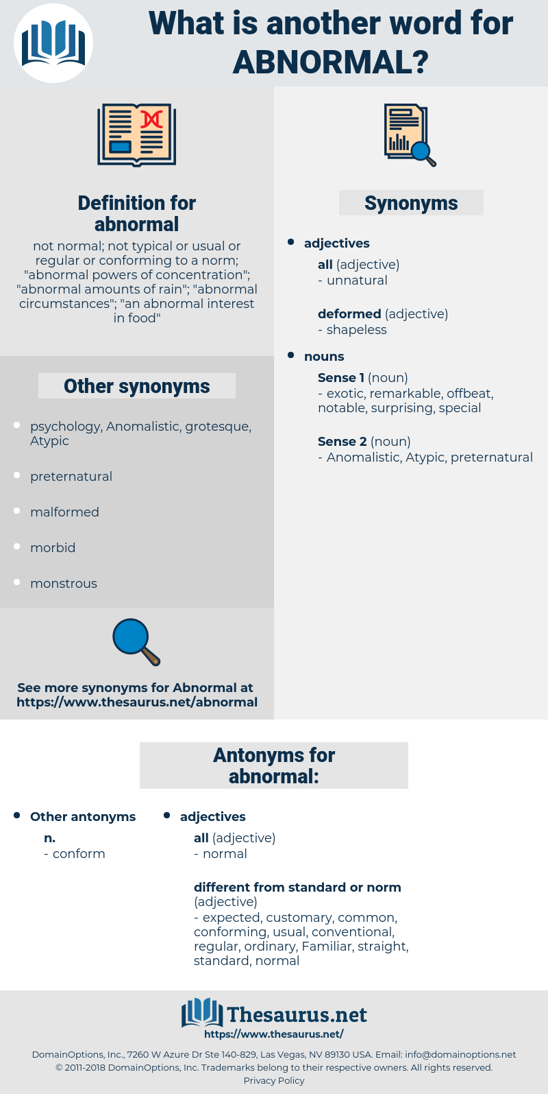 abnormal, synonym abnormal, another word for abnormal, words like abnormal, thesaurus abnormal