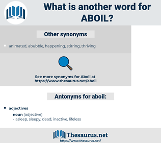 aboil, synonym aboil, another word for aboil, words like aboil, thesaurus aboil