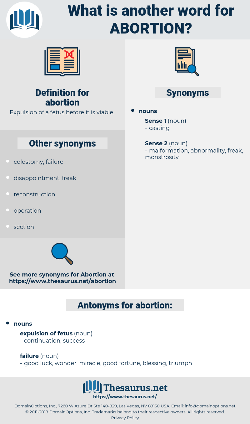 abortion, synonym abortion, another word for abortion, words like abortion, thesaurus abortion