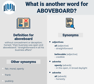 aboveboard, synonym aboveboard, another word for aboveboard, words like aboveboard, thesaurus aboveboard