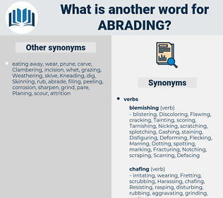 Abrading, synonym Abrading, another word for Abrading, words like Abrading, thesaurus Abrading