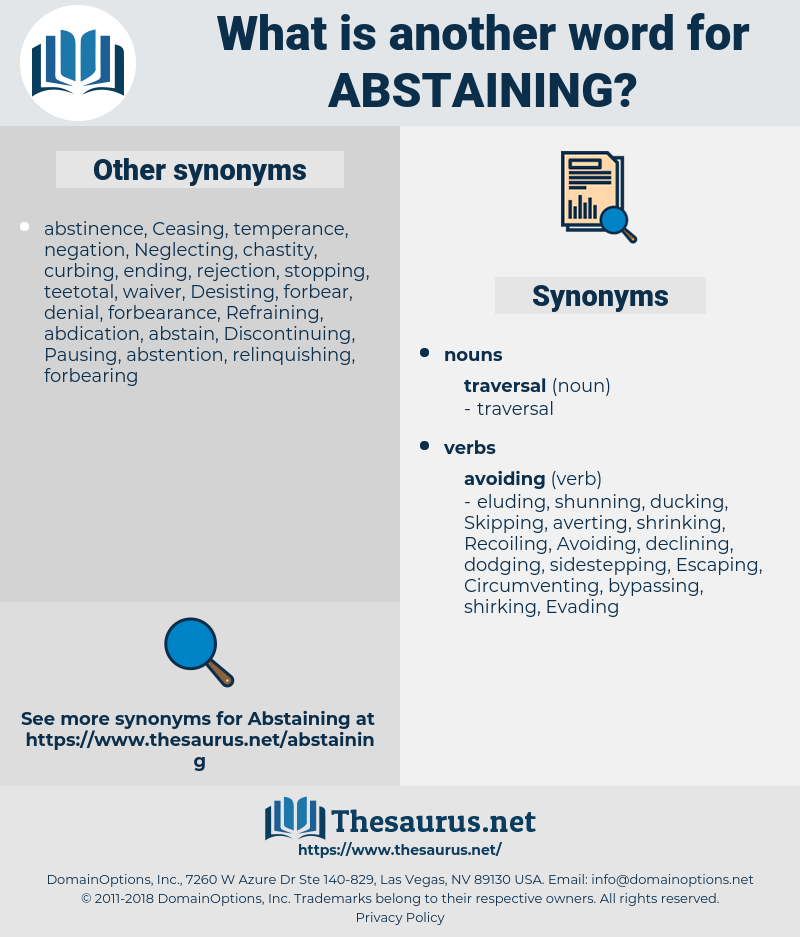 Abstaining, synonym Abstaining, another word for Abstaining, words like Abstaining, thesaurus Abstaining