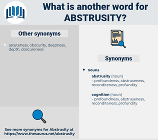 abstrusity, synonym abstrusity, another word for abstrusity, words like abstrusity, thesaurus abstrusity