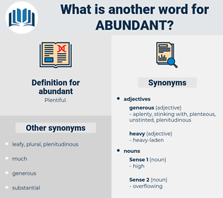abundant, synonym abundant, another word for abundant, words like abundant, thesaurus abundant