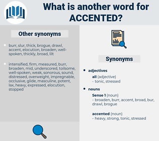 accented, synonym accented, another word for accented, words like accented, thesaurus accented