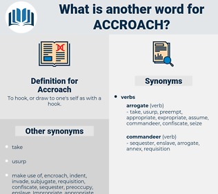 Accroach, synonym Accroach, another word for Accroach, words like Accroach, thesaurus Accroach