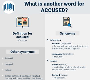 accused, synonym accused, another word for accused, words like accused, thesaurus accused