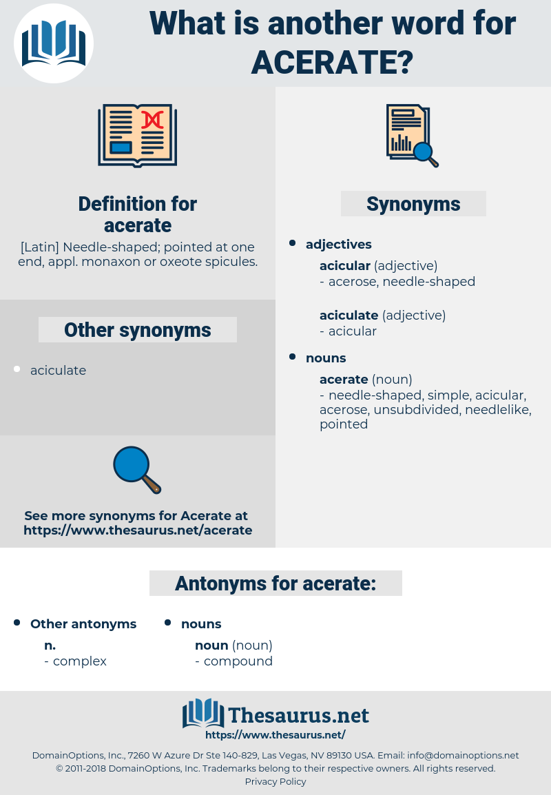 acerate, synonym acerate, another word for acerate, words like acerate, thesaurus acerate