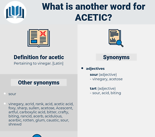 acetic, synonym acetic, another word for acetic, words like acetic, thesaurus acetic