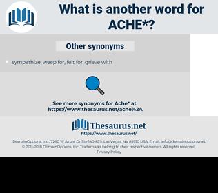 ache, synonym ache, another word for ache, words like ache, thesaurus ache