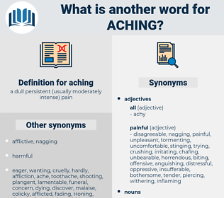 aching, synonym aching, another word for aching, words like aching, thesaurus aching