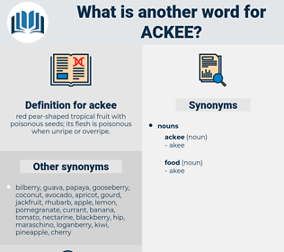 ackee, synonym ackee, another word for ackee, words like ackee, thesaurus ackee