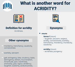 acridity, synonym acridity, another word for acridity, words like acridity, thesaurus acridity