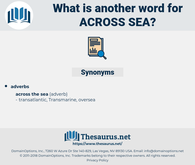 across sea, synonym across sea, another word for across sea, words like across sea, thesaurus across sea