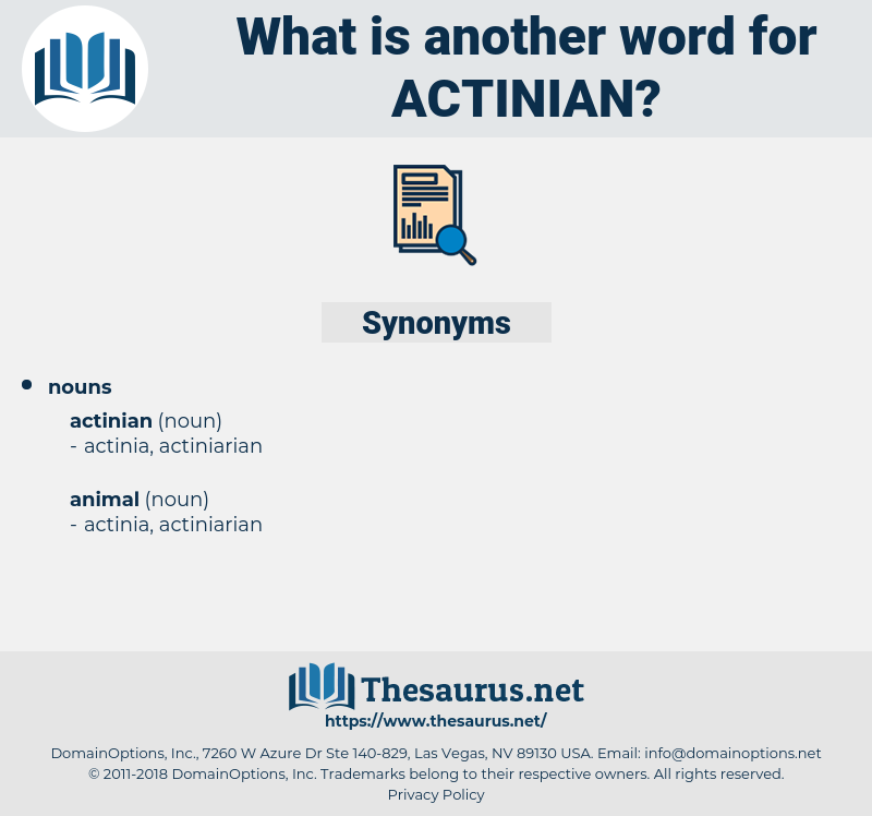 actinian, synonym actinian, another word for actinian, words like actinian, thesaurus actinian