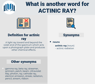 actinic ray, synonym actinic ray, another word for actinic ray, words like actinic ray, thesaurus actinic ray