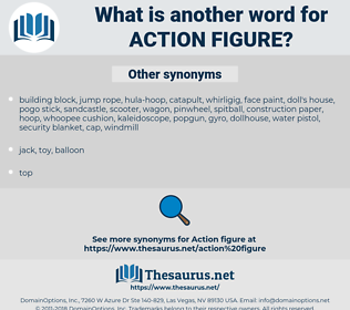 action figure, synonym action figure, another word for action figure, words like action figure, thesaurus action figure