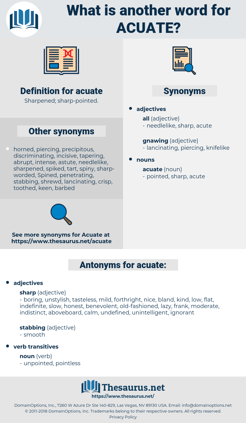 acuate, synonym acuate, another word for acuate, words like acuate, thesaurus acuate