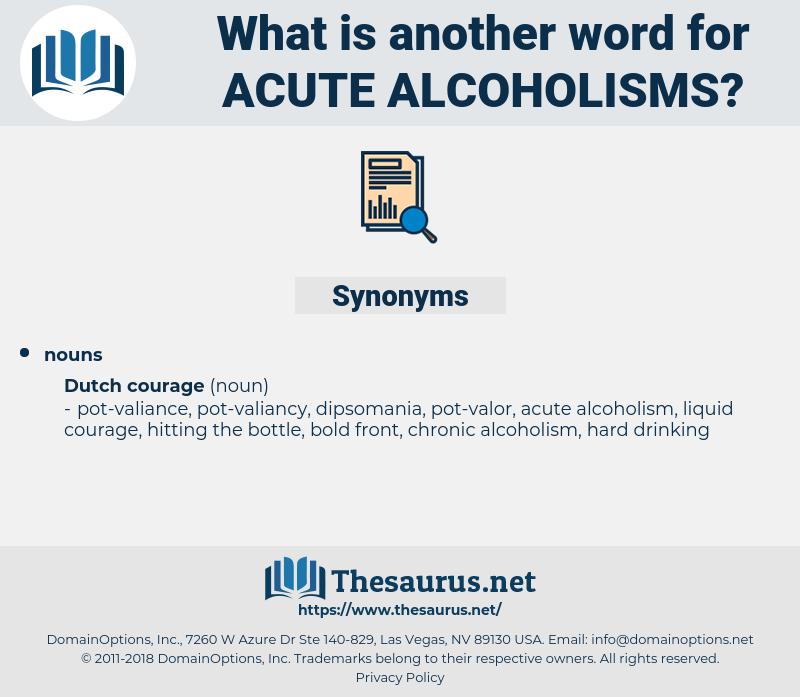 acute alcoholisms, synonym acute alcoholisms, another word for acute alcoholisms, words like acute alcoholisms, thesaurus acute alcoholisms
