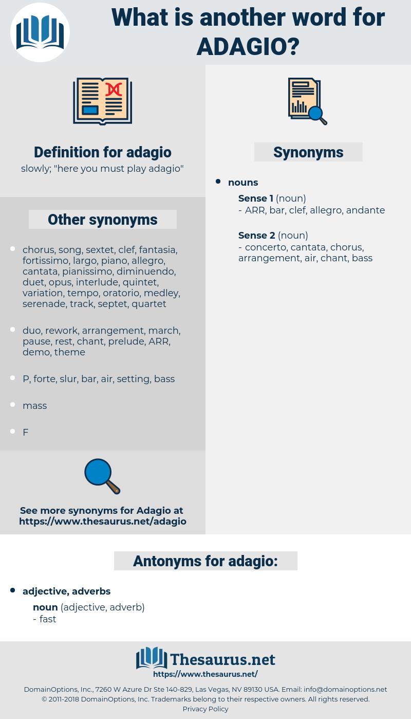 adagio, synonym adagio, another word for adagio, words like adagio, thesaurus adagio